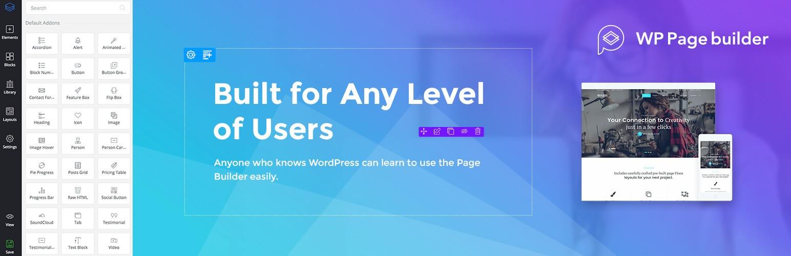 WP Page Builder – конструктор страниц WordPress