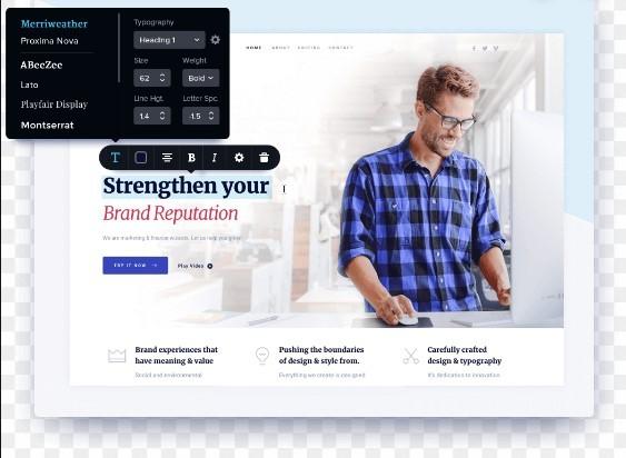 Brizy page builder — плагин создания страниц для wordpress