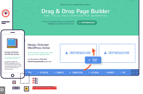 WP Page Builder - Drag and Drop